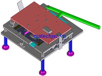 Máy vặn chân linh kiện điện tử