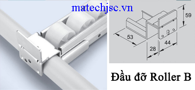 Đầu đỡ rollerB GP-B ( Placon support metal B )