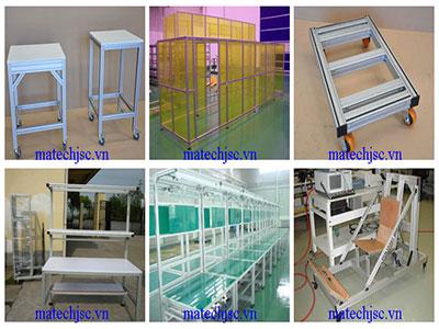 Các loại xe đẩy hàng công nghiệp trong sản xuất diện tử