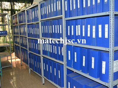 Kệ V lỗ đựng hồ sơ, tài liệu
